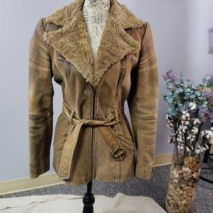 Moda International Vintage leather jacket